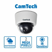CamTech - 2MP - PTZ - 18x Zoom - PoE - Outdoor