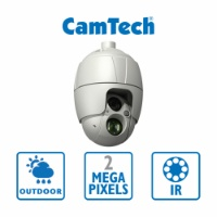 CamTech - 2MP - PTZ - 30x Opt. Zoom - IR 300m